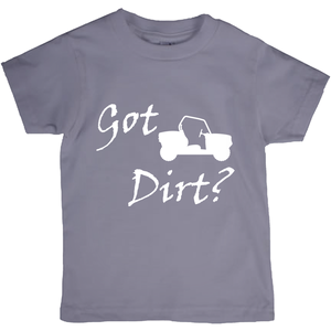 Got Dirt? Fun on a Side-by-Side! Novelty Short Sleeve Youth T-Shirt
