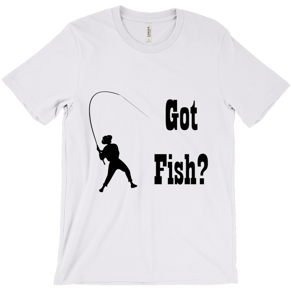 Got Fish? Work that Rod! Novelty Short Sleeve T-Shirt