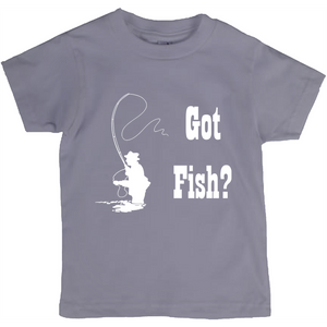 Got Fish? Fly Fishing! Novelty Short Sleeve Youth T-Shirt - CampWildRide.com