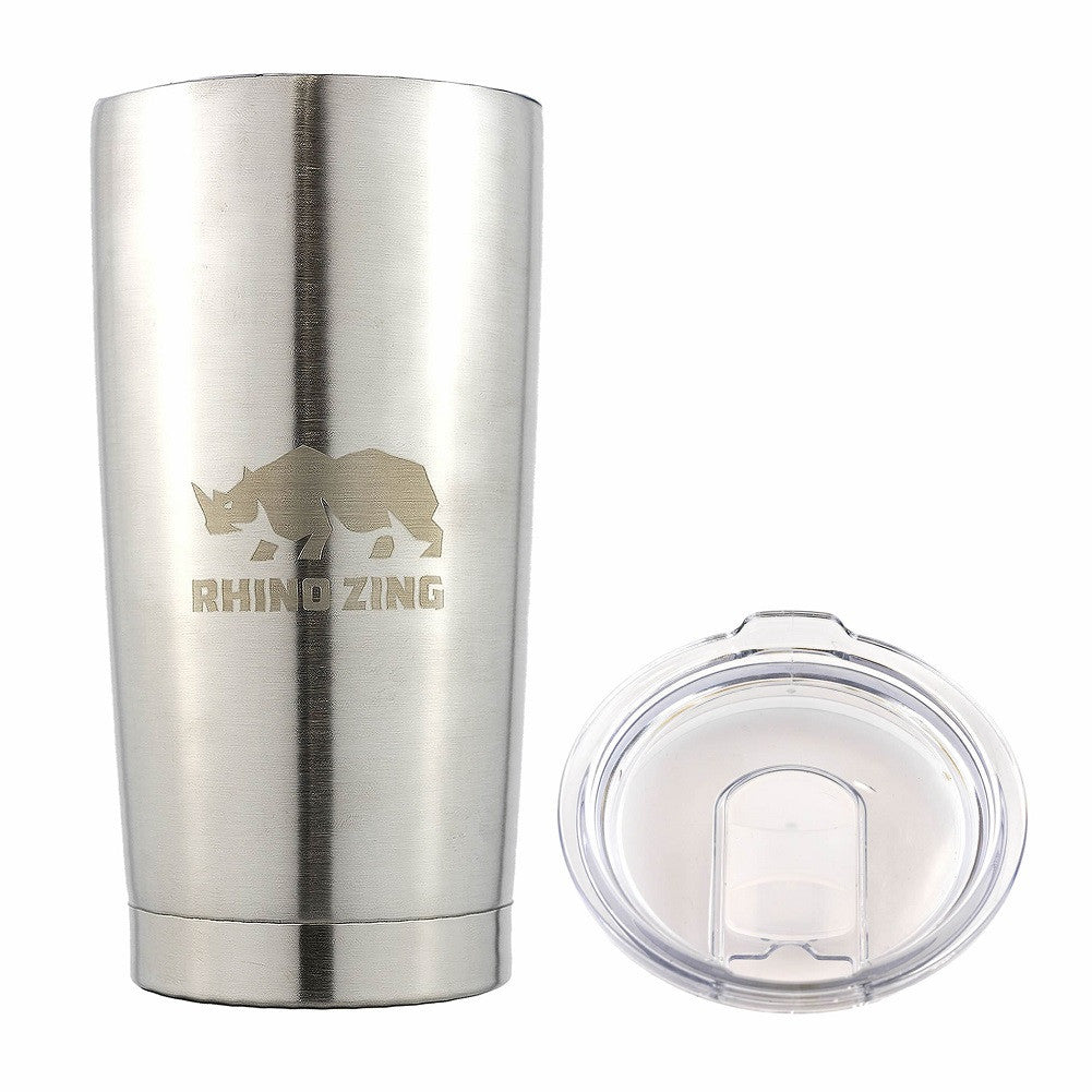 Stainless Steel Insulation : Oz tumbler w handle stainless steel travel insulated