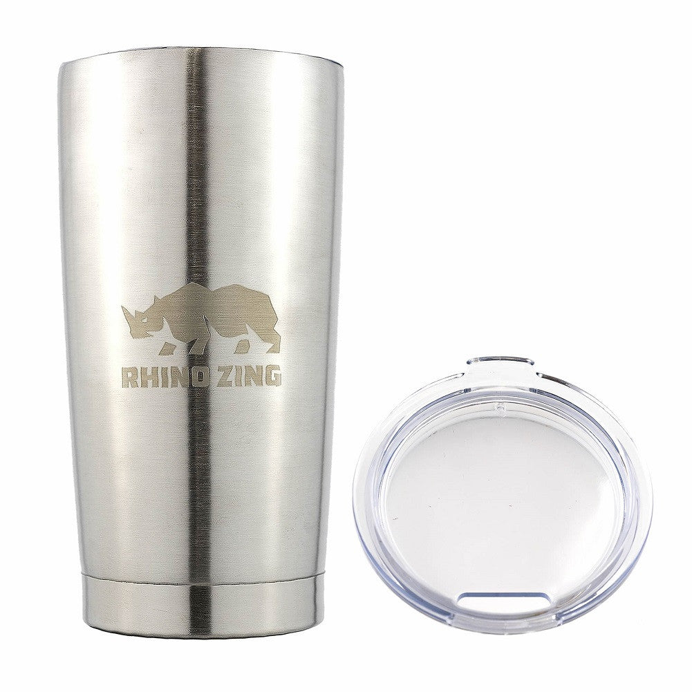 20 Oz Tumbler Stainless Steel Travel Insulated Coffee Mug Non-Slide Lid - CampWildRide.com