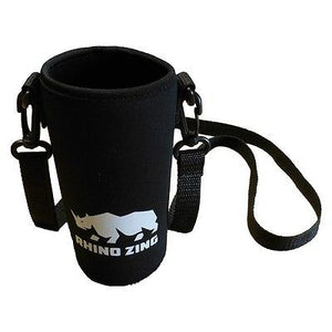 18 Oz Neoprene Water Bottle Sleeve/Pouch with Adjustable Shoulder Strap - CampWildRide.com