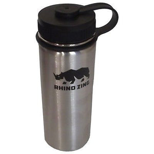 18 Oz Stainless Steel Water Bottle with Insulated Wide Mouth Standard Lid - CampWildRide.com