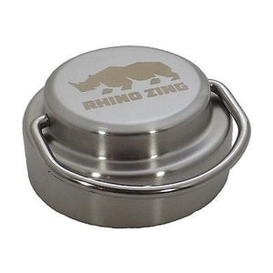 Wide Mouth Stainless Steel Lid for the Rhino Zing Water Bottle Insulated - CampWildRide.com
