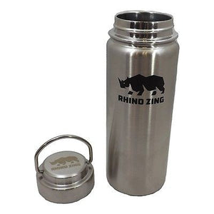 18 Oz Stainless Steel Water Bottle w/Sleeve and Wide Mouth Stainless Steel Lid