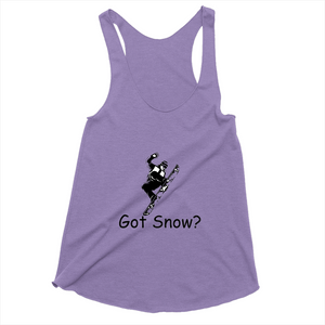 Got Snow? Cool Snowboarder! Novelty Women's Tank Top T-Shirt