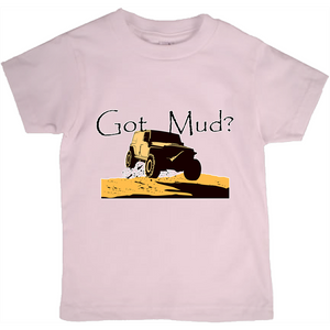 Got Mud? Fun with your 4WD! Novelty Short Sleeve Youth T-Shirt - CampWildRide.com
