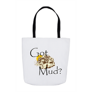 Got Mud? Fun with your Back Road Vehicle! Novelty Funny Tote Bag Reusable - CampWildRide.com