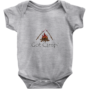 Got Camp? Novelty Infant One-Piece Baby Bodysuit - CampWildRide.com