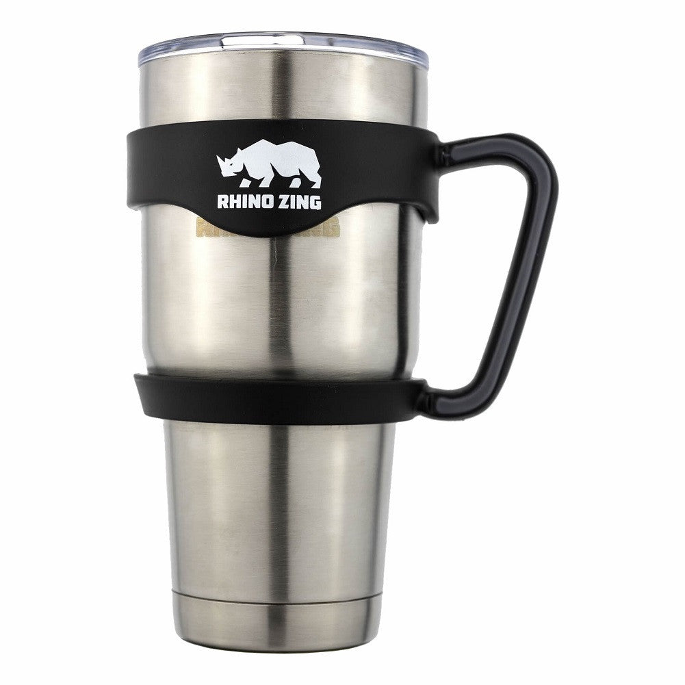 30 Oz Tumbler w/Handle Stainless Steel Travel Insulated ...