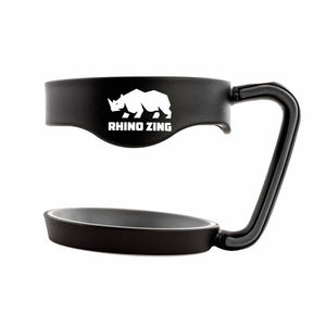 30 Oz Holder / Handle for the Rhino Zing Tumbler Coffee Mug Black