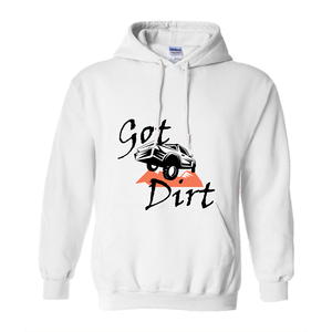 Got Dirt? Fun with your Truck! Novelty Hoodies (No-Zip/Pullover)