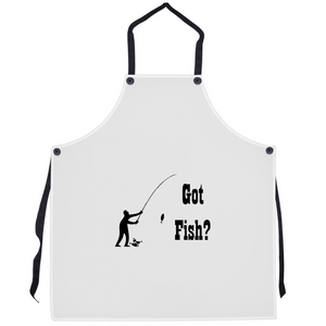 Got Fish? Fun with a Pole! Novelty Funny Apron - CampWildRide.com