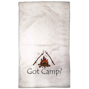 Got Camp? Novelty Funny Hand Towel - CampWildRide.com