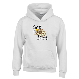 Got Dirt? Fun with your Back Road Vehicle! Novelty Youth Hoodies (No-Zip/Pullover)