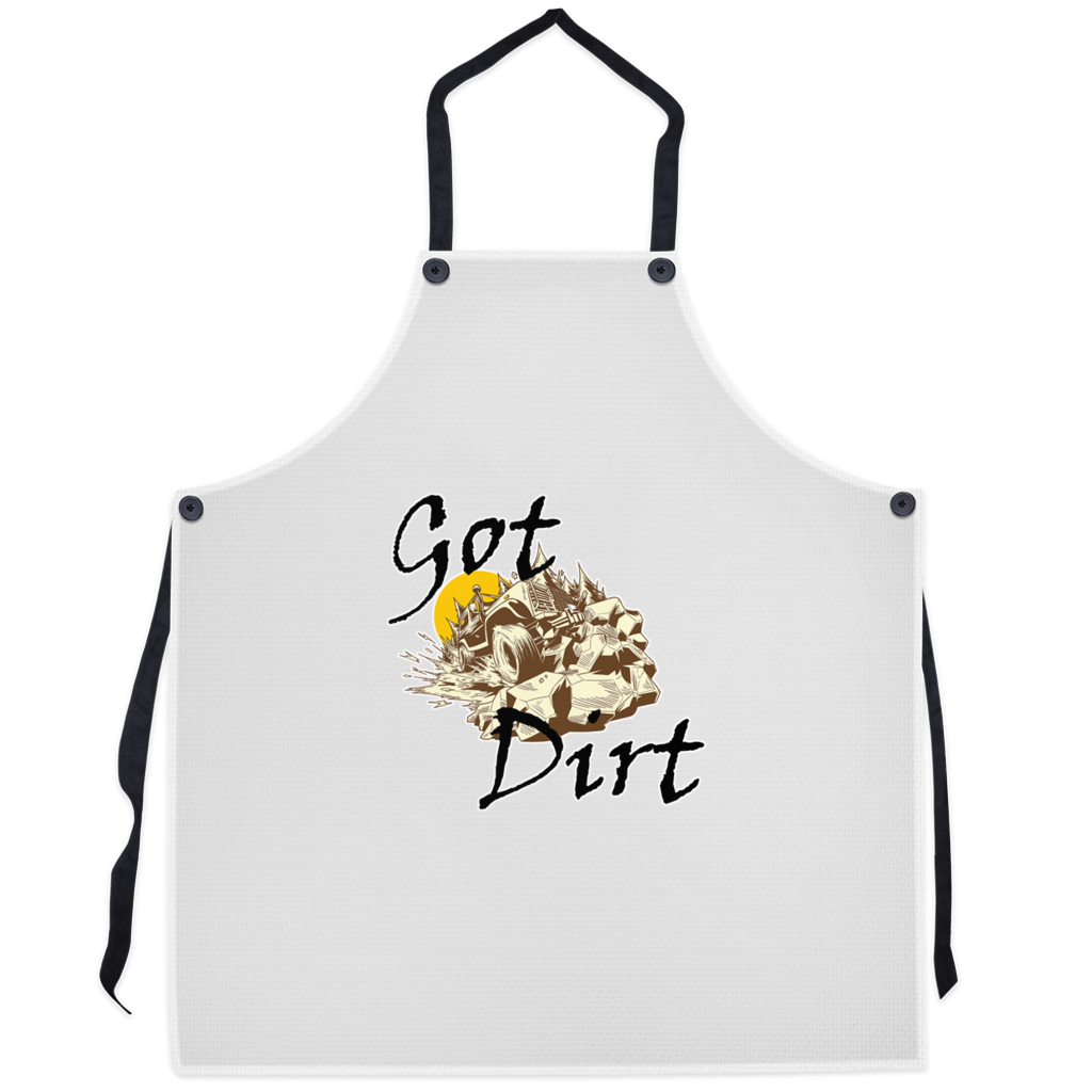 Got Dirt? Fun with your Back Road Vehicle! Novelty Funny Apron - CampWildRide.com