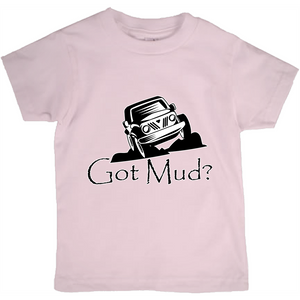 Got Mud? Fun with your Off Road Vehicle! Novelty Short Sleeve Youth T-Shirt - CampWildRide.com