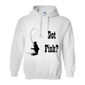 Got Fish? Fly Fishing! Novelty Hoodies (No-Zip/Pullover)