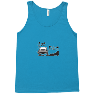 Got Dirt? Fun with your 4x4! Novelty Tank Top T-Shirt - CampWildRide.com