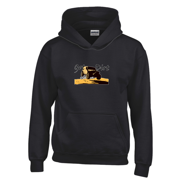 Got Dirt? Fun with your 4WD! Novelty Youth Hoodies (No-Zip/Pullover)