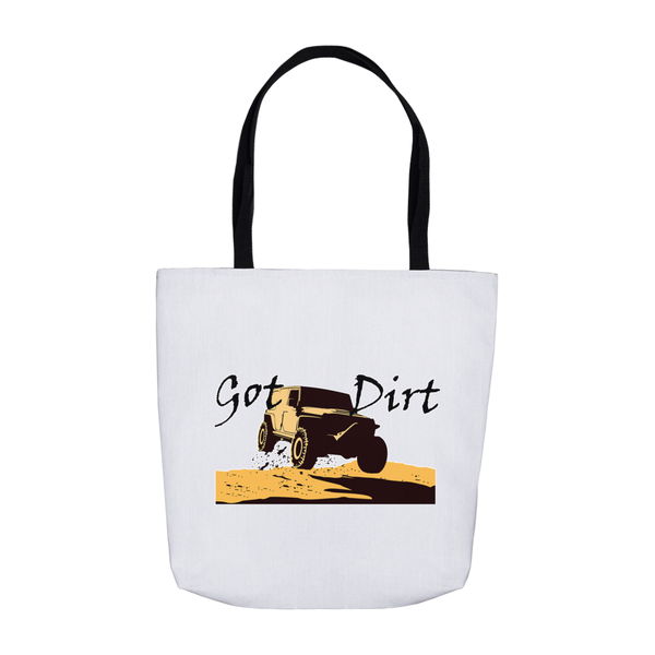 Got Dirt? Fun with your 4WD! Novelty Funny Tote Bag Reusable - CampWildRide.com
