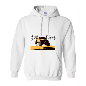 Got Dirt? Fun with your 4WD! Novelty Hoodies (No-Zip/Pullover) - CampWildRide.com