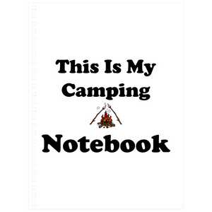 This IS My Camping Notebook! Novelty Funny Notebook