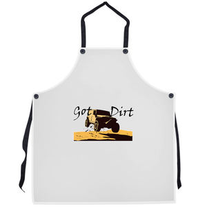 Got Dirt? Fun with your 4WD! Novelty Funny Apron - CampWildRide.com