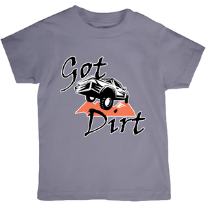 Got Dirt? Fun with your Truck! Novelty Short Sleeve Youth T-Shirt - CampWildRide.com