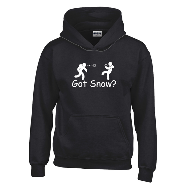 Got Snow? Snowball Fight! Novelty Youth Hoodies (No-Zip/Pullover)