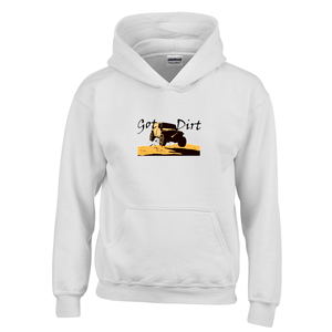 Got Dirt? Fun with your 4WD! Novelty Youth Hoodies (No-Zip/Pullover) - CampWildRide.com