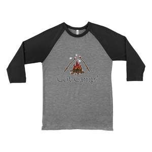 Got Camp? Novelty Baseball Tee (3/4 sleeves) - CampWildRide.com