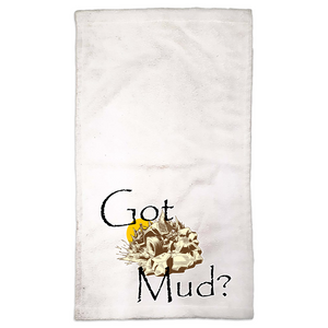 Got Mud? Fun with your Back Road Vehicle! Novelty Funny Hand Towel