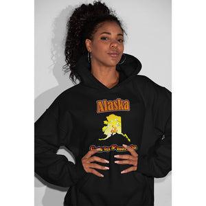 Alaska Gets Its S'more On! Novelty Hoodies (No-Zip/Pullover)