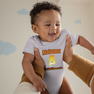 Alabama Gets Its S'more On! Novelty Infant One-Piece Baby Bodysuit