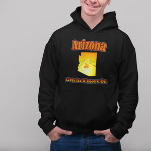 Arizona Gets Its S'more On! Novelty Hoodies (No-Zip/Pullover) - CampWildRide.com