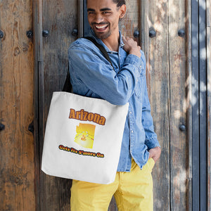 Arizona Gets Its S'more On! Novelty Funny Tote Bag Reusable