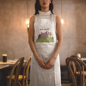 Bear In! Bare Out! Novelty Funny Apron - CampWildRide.com