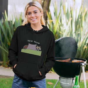 Bear In! Bare Out! Novelty Hoodies (No-Zip/Pullover) - CampWildRide.com