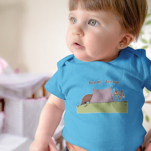 Bear In! Bare Out! Novelty Infant One-Piece Baby Bodysuit - CampWildRide.com