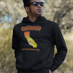 California Gets Its S'more On! Novelty Hoodies (No-Zip/Pullover) - CampWildRide.com