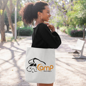 Camp Wild Ride Logo! Novelty Funny Tote Bag Reusable
