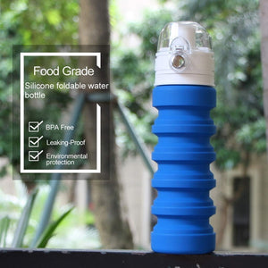 Collapsible Water Bottle Silicone Travel Bottle