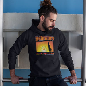 Delaware Gets Its S'more On! Novelty Hoodies (No-Zip/Pullover) - CampWildRide.com