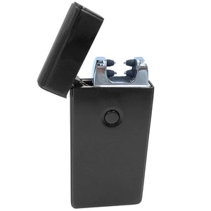 Dual Arc Plasma Flame-less Electric Lighter, USB Rechargeable, With USB Cable