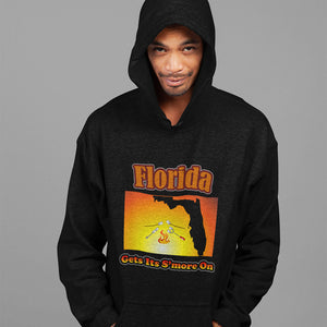 Florida Gets Its S'more On! Novelty Hoodies (No-Zip/Pullover) - CampWildRide.com