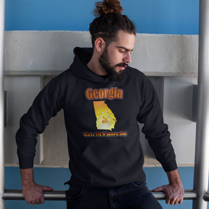 Georgia Gets Its S'more On! Novelty Hoodies (No-Zip/Pullover) - CampWildRide.com