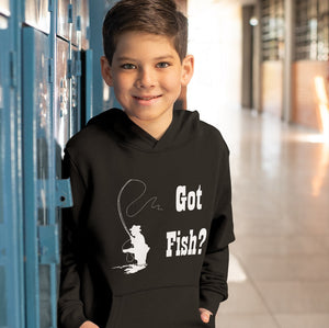 Got Fish? Fly Fishing! Novelty Youth Hoodies (No-Zip/Pullover)