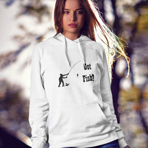 Got Fish? Fun with a Pole! Novelty Hoodies (No-Zip/Pullover)