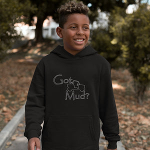 Got Mud? Fun on a Side-by-Side! Novelty Youth Hoodies (No-Zip/Pullover) - CampWildRide.com